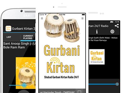 Online Gurbani Kirtan 24/7 Radio Station